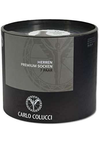 Carlo Colucci Sockenbox Schwarz 43-46