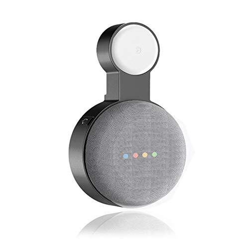 N/Z Google Home - Soporte de pared para Google Home Mini (2ª generación), asistente de voz, soporte compacto, enchufable en la cocina, el cuarto de baño, dormitorio, esconde la cuerda larga