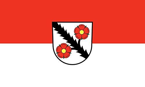 Unbekannt magFlags Tisch-Fahne/Tisch-Flagge: Tuningen 15x25cm inkl. Tisch-Ständer