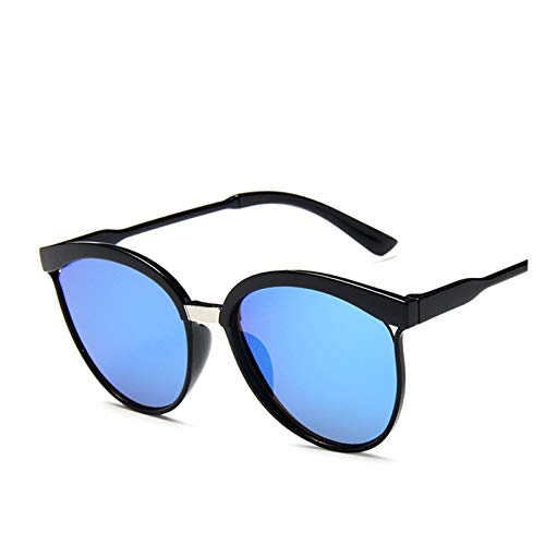 Lucky DuDu Gafas de Sol Estilo Gato Gafas de Sol plástico Gafas de Sol clásico Retro de Gafas al Aire Libre de Pesca Gafas de Sol (Color : B)