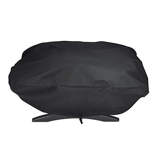 hehsd0 Housse de protection pour barbecue d'extérieur en polyester résistant aux UV et au vent pour Weber 7110 Q1000