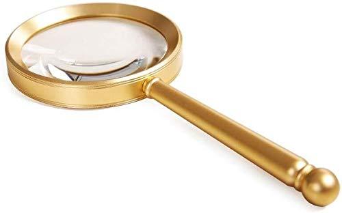 Holding Vergrootglas Hand-held Vergrootglas 10 keer HD Lezen Horloge Onderhoud Oude Chinese Spelen Identificatie Vergrootglas
