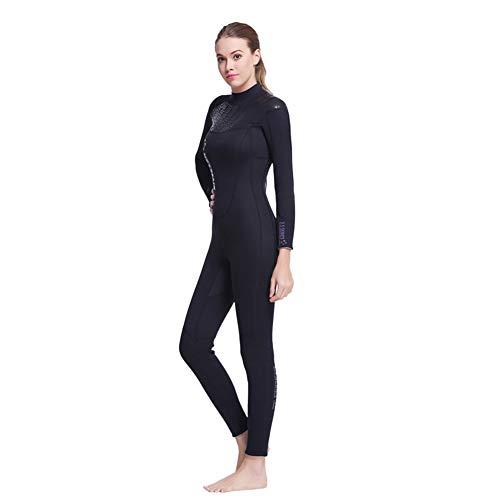 ACHICOO Traje de neopreno de 3 mm, unisex, para buceo y pesca submarina, para deportes al aire libre, Femenino., S/M