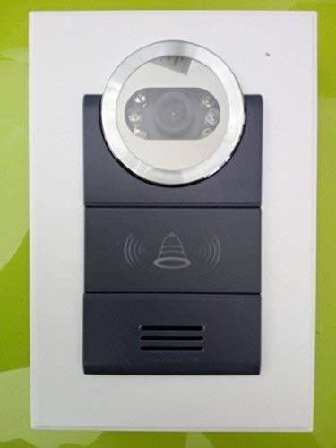 Frenkbox Telecamera con Audio bidirezionale per videocitofono 4 Fili e Serratura Elettronica