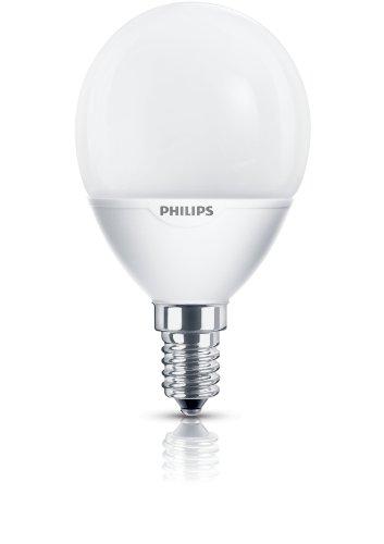 Philips Energiesparlampe Softone Lustre Tropfenlampe E14 7 Watt 827 warmton extra