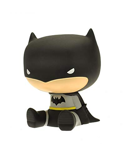 Plastoy DC Comics-Tirelire Chibi-Batman, 11128080067, Multicolor