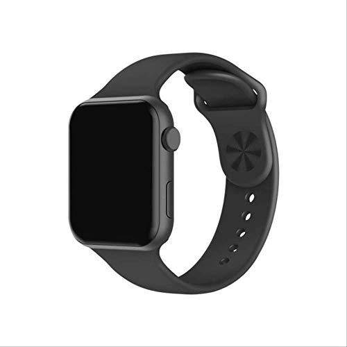 SMSTG Smart Watch Heart Rate Monitor Blood Pressure Fitness Bracelet Watch Women Men Smartwatch PK B57 P80 P70 Iwo 8 9Black