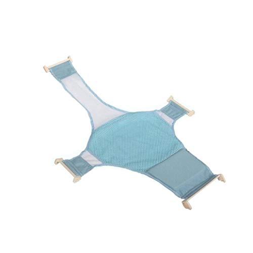 AAGOOD Safe Baby-Kind-Bad-Riemen-Bett-weicher Beleg Mesh-Riemen-Rack-Sprühplatte Massage Blau 1pc