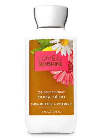 Bath & Body Works Signature Collection Love & Sunshine Super Smooth Body Lotion (8 oz.)
