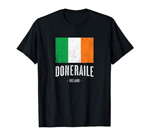 City of Doneraile Ireland | Men Women Kids - Irish Flag - T-Shirt