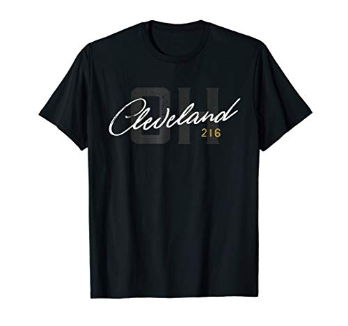 Cleveland 216 Shirt / Cleveland OH Ohio Gift City T-Shirt