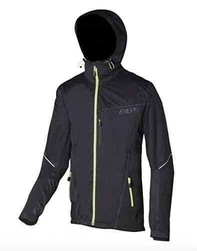 BBB Cycling Fahrrad Regenjacke XL für Herren, Deltashield Jacket, BBW-268, Schwarz