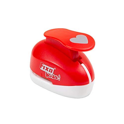 Fixo Kids 38651. Perforadora Especial Goma EVA con Forma de Corazón. 1,6cm. Tamaño Pequeño.