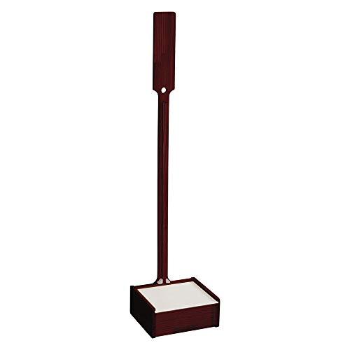 おしゃれな掃除機スタンド ブラウン 収納BOX付き 天然木 クリーナースタンド 幅27.5cm×奥行28cm×高さ129cm 立てて収納 充電可能 スティック掃除機 コードレス掃除機 ダイソンにもおすすめ