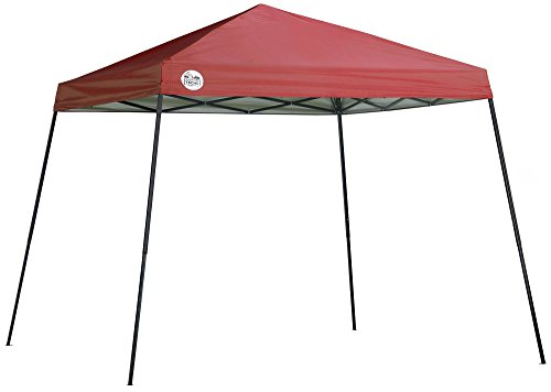 Shade Tech 10 X 10 ft. Slant Leg Canopy, Red
