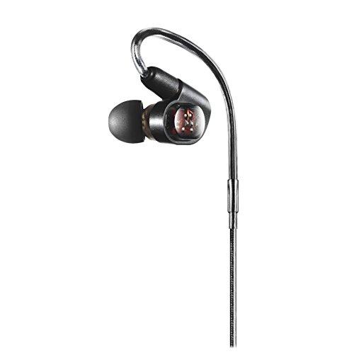 audio-technicaバランスド・アーマチュア型インナーイヤーヘッドホンブラックATH-E70