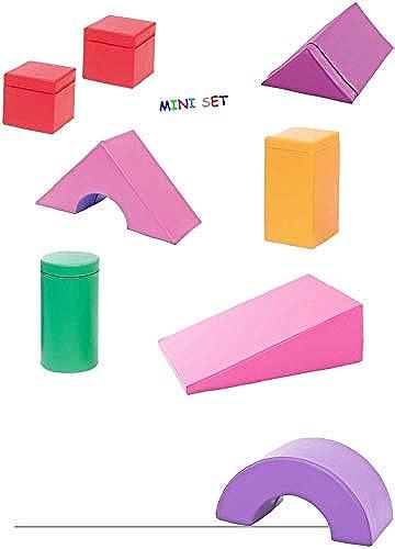 MoskitoToys Softbausteine Grossbausteine - Set Besteehend aus 8 Teilen