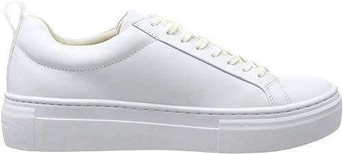 Vagabond Damen Zoe Platform Sneaker, Weiß (White 01), 38 EU