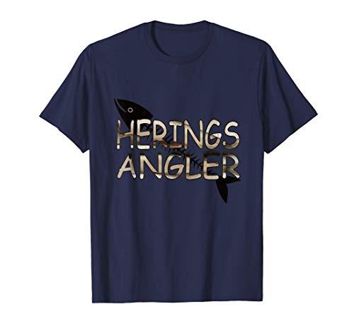 Heringsangeln Thorsminde Dänemark Hering Vorfach Fischhaut T-Shirt