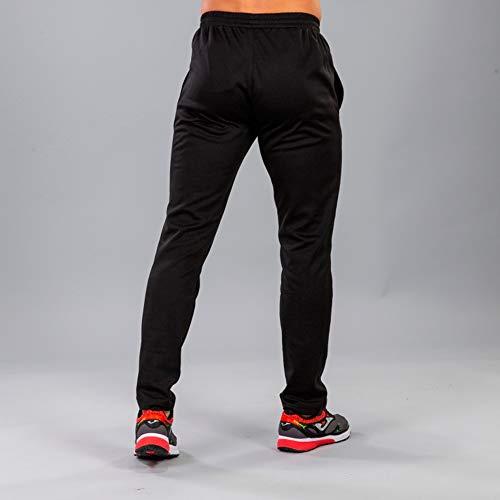 Joma Cleo II Pantalon Largo Deportivo, Hombre, Negro, L