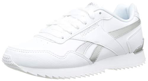 Reebok Royal Glide Rplclp, Zapatillas de Trail Running Mujer, Blanco White White Silver Met White White Silver Met, 38.5 EU