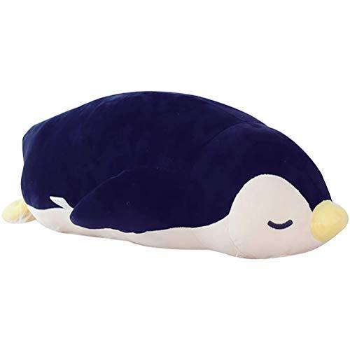Funmix Plüschtiere,Pinguin Stofftier 35cm Kuschelige Plüsch Kinder, Flauschiges Wärmekissen Plüschtier Kuscheltier Geschenk für Bett, Auto und Zuhause