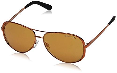 Michael Kors 5004_10915N (59 mm) gafas de sol, Cobre, 59 para Mujer