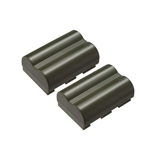 Powerextra 2個セット キャノン Canon BP-511/BP-511A 互換バッテリー Canon EOS 5D, 50D, 40D, 20D, 30D, 10D, Digital Rebel 1D, D60, 300D, D30, Kiss Powershot G5, Pro 1, G2, G3, G6, G1, Pro90 対応