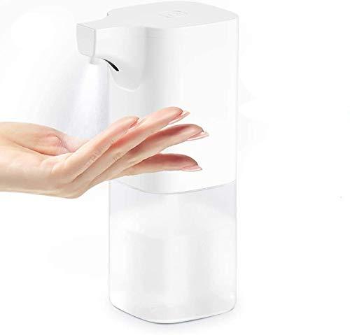 Yareta Desinfektionsmittelspender Automatisch Desinfektionsmittel Spender, Automatischer Infrarot Sensor Seifenspender Hand Desinfektionsspender Berührungslos 350ml Hohe Kapazität für Küche Bad