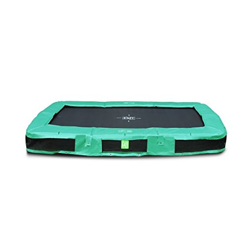 EXIT InTerra Rectangular Trampoline