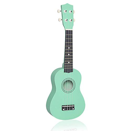 N/V Portable Mini Size Professional Universal Acoustic Ukulele Musical Instrument with Fresh Color for Adults and Children Mint Green