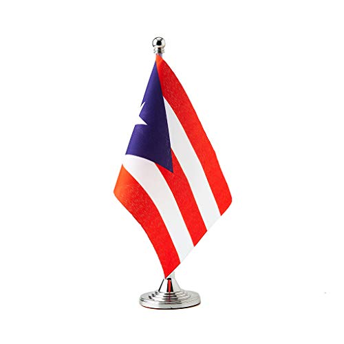 Puerto Rico Flag Puerto Rican Table Desk Small Mini Flags Decorations