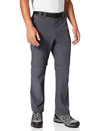 CMP Zip-off 3T51647, Pantaloni Uomo, Grigio (Grey Irish), 46