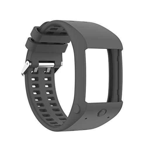 hainan Correa de repuesto para reloj inteligente Polar M600, compatible con correas de repuesto para reloj inteligente deportivo Polar M600