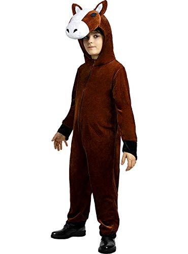 Funidelia | Disfraz de Caballo para niño y niña Talla 5-6 años ▶ Animales - Multicolor