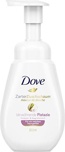 Dove Zarter Duschschaum Pistazien- & Magnolienduft, 6er Pack (6 x 200 ml)