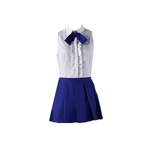 JLCYYSS Anime Fairy Tail Erza Scarlet Cosplay Disfraz Halloween Carnaval Diario Uniforme Falda Vestido cómico Trajes para Mujeres Regalo