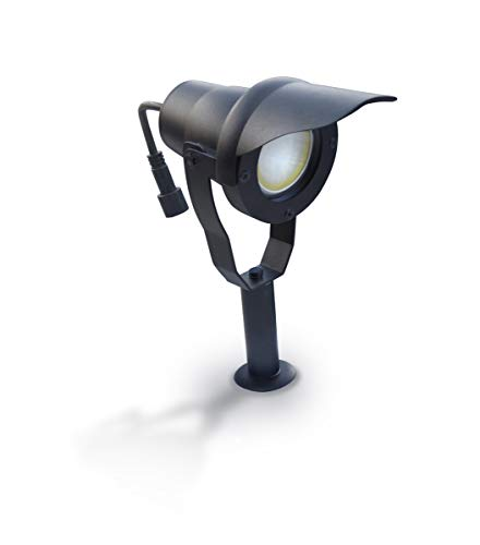 Easy Connect - Projecteur Alu noir avec ampoule LED 6,5W fournie Easy Connect IP67 ref. 65250 - EC-65250 - EC-65250