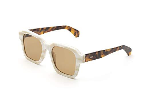 Retrosuperfuture Gafas de sol 0DO Gran Concha Blanca, ciudad de la Habana blanco marrón tamaño de 53 mm de gafas de sol unisex