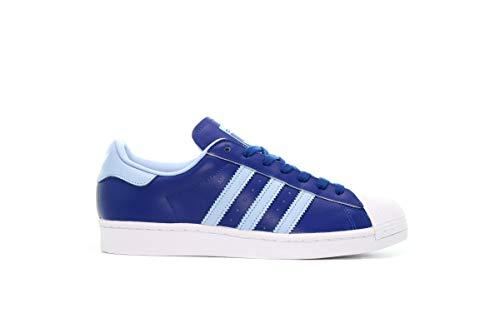adidas Originals Superstar FV3268 Royal Blue Clear Sky - Zapatillas de piel, color Azul, talla 44 EU