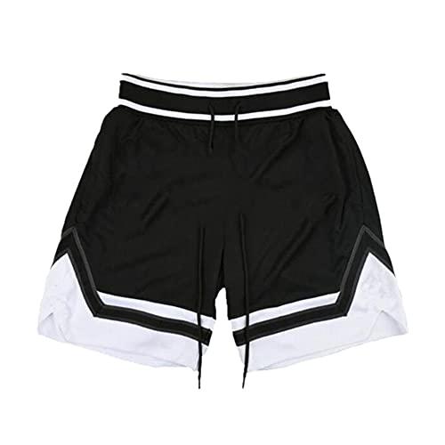 N\P Estadios de verano de los hombres de fitness culturismo pantalones cortos de entrenamiento de baloncesto