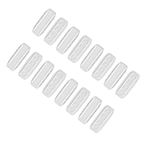 HEMOBLLO 8 Piezas de Suministros para El Hogar del Fijador de Tiras de Alimentación del Adaptador sin Perforaciones (Blanco)