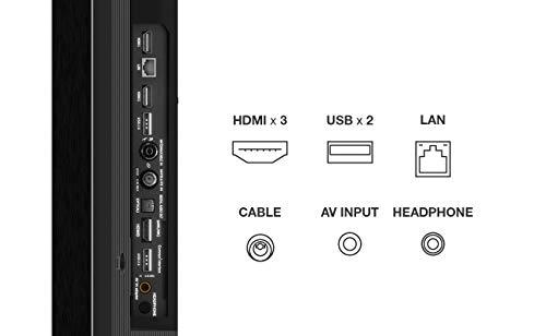 TV TCL 50P816 50 pollici, 4K HDR PRO, Ultra HD, Smart TV con sistema Android 9.0, Design senza bordi in alluminio (Controllo Vocale Hands-Free, Compatibile con Google Assistant & Alexa)