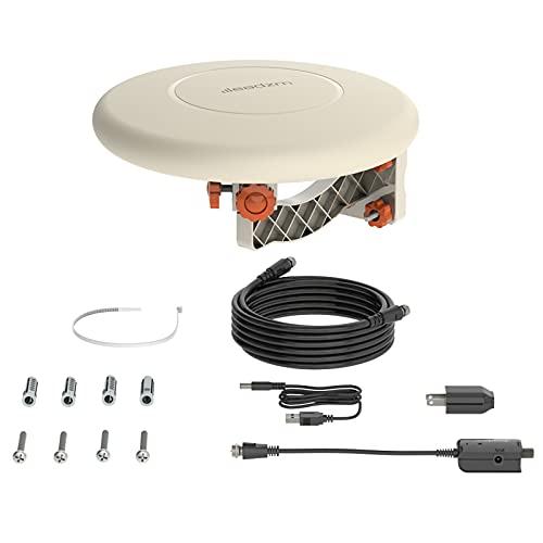 cossepair GT4-OXJ 150 Miles TV Antenna Indoor Outdoor Omni-Directional 360 Degree Reception