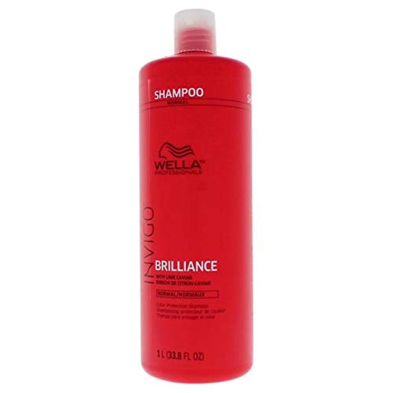 ホップバズ限りWella INVIGO Brilliance Shampoo for Fine Hair - 33.8oz Liter 141[並行輸入]
