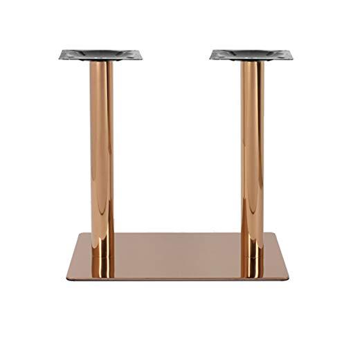 WZYY Möbelbeine Aus Edelstahl/DIY Quadratische Stehtischbeine / (Jede Größe) / Mit Schrauben Und Schutzfüßen/Für Bar, Konferenztisch, Rezeption