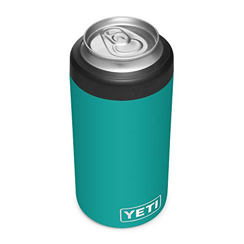 photo of a black colored YETI Rambler 16 oz. Colster Tall Can Insulator