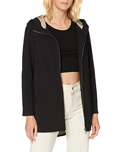 VERO MODA Damen VMDORITUPTOWN Jacket BOOS Anorak, Black, L