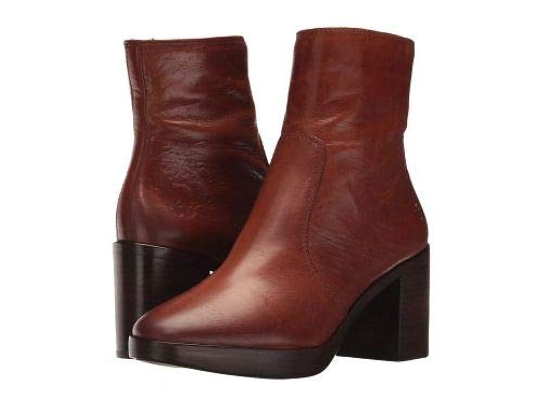決して村代替案Frye(フライ) レディース 女性用 シューズ 靴 ブーツ アンクルブーツ ショート Joan Campus Short - Redwood Smooth Antique Pull Up [並行輸入品]