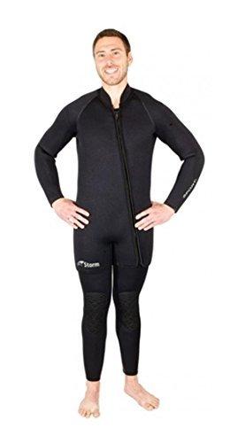 Storm Accessories Men's 7mm 2 Piece Step-In Wetsuit, XXXXX-Large by Storm Accessories